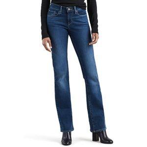 Levi's Curvy Bootcut Mid Rise Jeans 6 Long 28x32